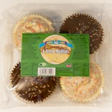 Baker Boys 4 Iced Muffins
