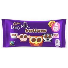 Cadbury 5pk Dairy Milk Buttons