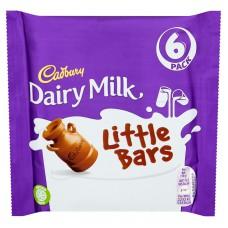 Cadbury 6pk Dairy Milk Little Bar