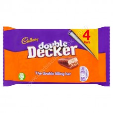 Cadbury 4pk Double Decker