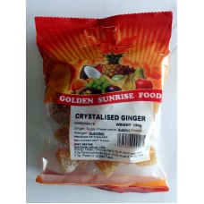 Golden Sunrise Crystalised Ginger
