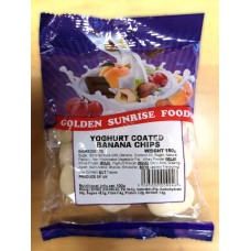 Golden Sunrise Yoghurt Coated Banana Chips