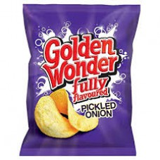 Golden Wonder 6pk Pickled Onion