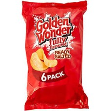 Golden Wonder 6pk Ready Salted
