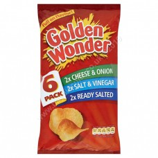 Golden Wonder 6pk Variety