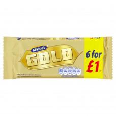 McVities Gold Bars 6pk PM £1
