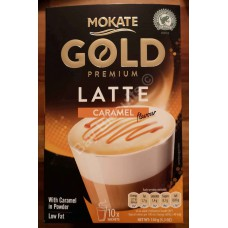 Mokate Gold Premium Latte Caramel Flavour