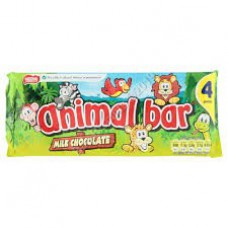 Nestle 4pk Milk Chocolate Animal Bar