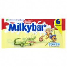 Nestle 6pk Milky Bars
