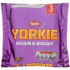 Nestle 3pk Raisin Yorkie
