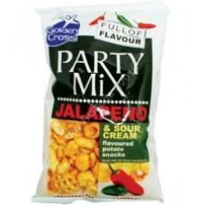 Golden Cross Jalapeno Party Mix