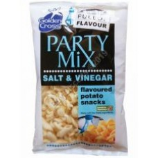 Golden Cross Salt & Vinegar Party Mix