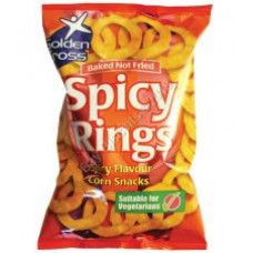 Golden Cross Spicy Rings