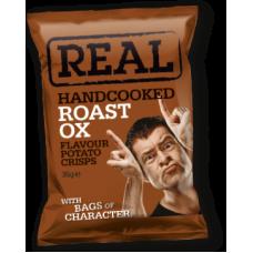 Real Crisps – Handcooked Crisps Roast Ox Crisps