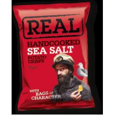 Real Crisps – Handcooked Crisps Sea Salt Crisps