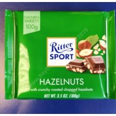 Ritter Milk Chocolate and Chopped Hazelnut