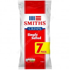 Smiths Simply Salted (7pk)