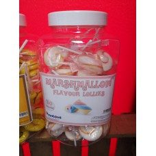Marshmallow Flavour Lolly