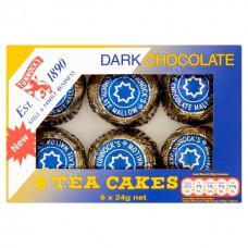Tunnocks Dark Chocolate Teacakes (6pk)