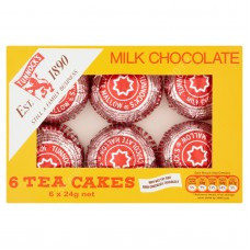 Tunnocks Milk Chocolate Teacakes (6pk)