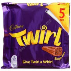 Cadbury 5pk Twirl (Singles)